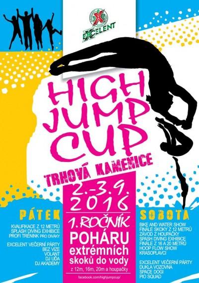 high jump cup
